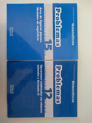Libros de problemas de matemáticas 6° primaria
