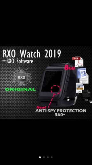 Reloj digital RXO memoria