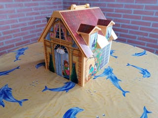 Casa de muñecas maletin de. Playmobil