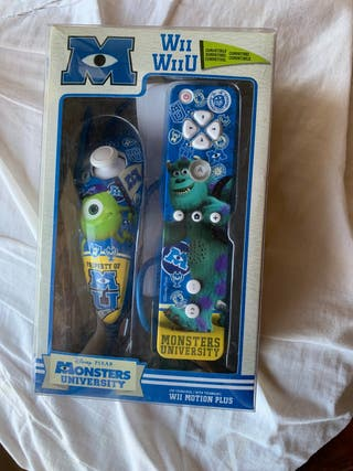 Mandos wii monsters university