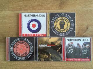 Lote de CD de Northern Soul