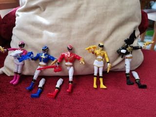 Power Rangers edición Megaforce