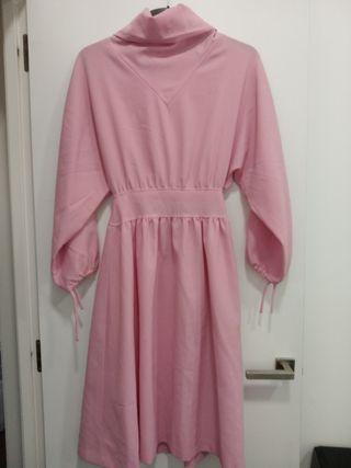 vestido vintage rosa