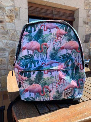 Mochila cole flamingo