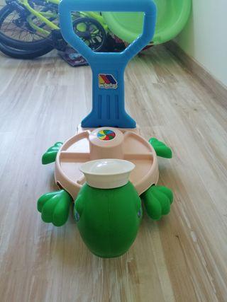 correpasillos tortuga de molto