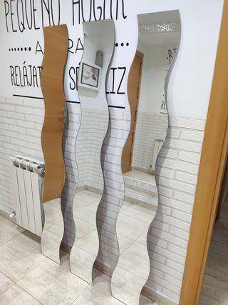 Espejos ondulados Ikea Krabb