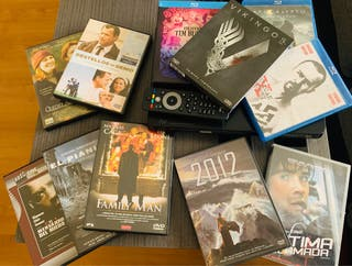 Blu-ray + peliculas + serie