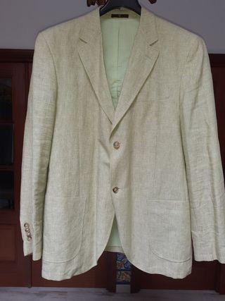 chaqueta de hombre mil rayas