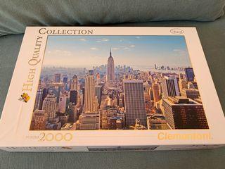 Puzzle Nueva York 2000 piezas