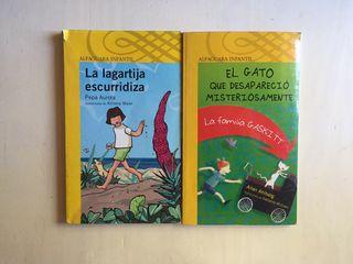 Libros de niños Alfaguara infantil