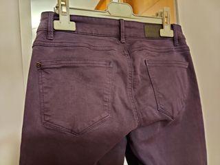 Pantalón azul marino Only