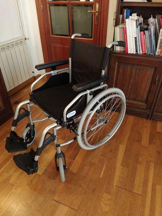 silla de ruedas IMPECABLE, regalo cojin antiescara