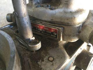 cabezal de inyección (distribuidor) y plato sonda