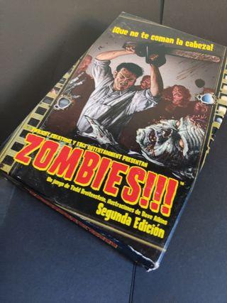 Zombies. Juego de mesa