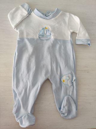 pijama bebé 1-3 meses