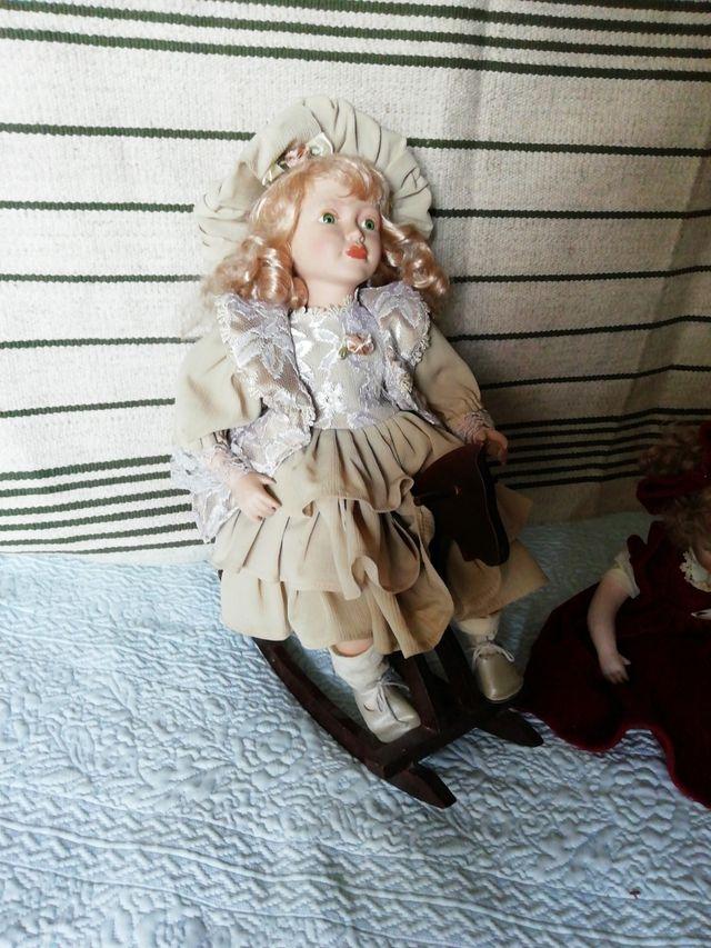 muñecas porcelana vintage.