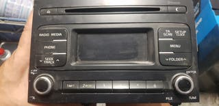 RADIO CD KIA SPORTAGE DOBLE DIN ORIGINAL