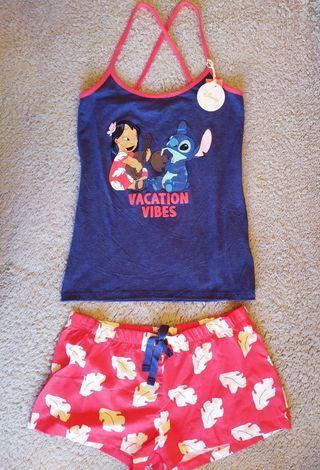 Pijama Lilo y Stitch Disney T. S 38-40 y L 42-44