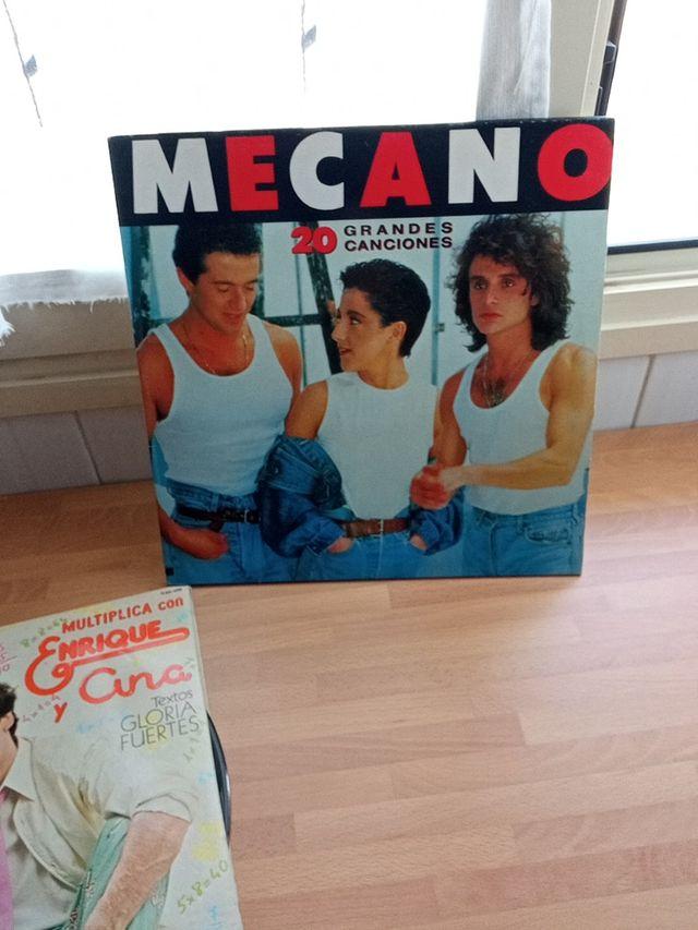 disco doble nuevo Mecano