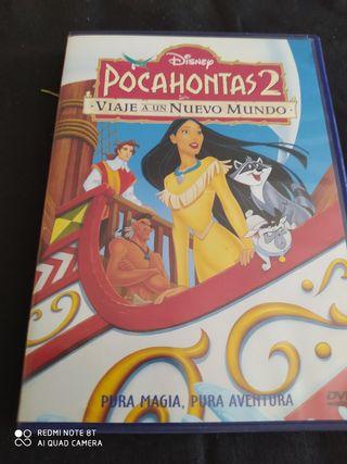 Lote peliculas Pocahontas w16