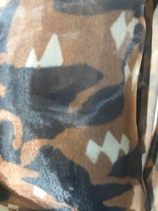 Camisa transparente Zara talla S