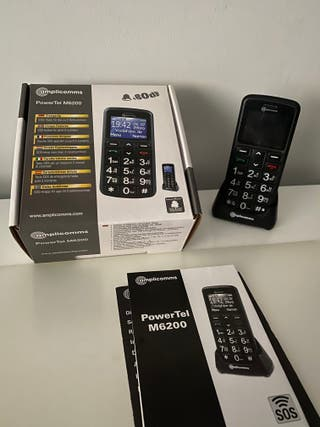 Móvil libre Amplicom PowerTel M6200