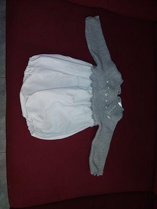 Pelele unisex Doña carmen T. 3 /6 meses