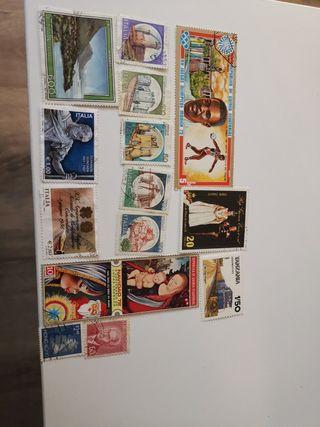 sellos Italia Guinea Ecuatorial y otros