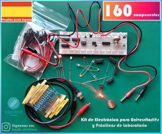 Kit de Electrónica para Universitari@s y Prácticas