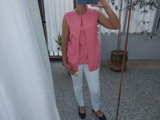 Marca Uterqüe blusa de verano talla S