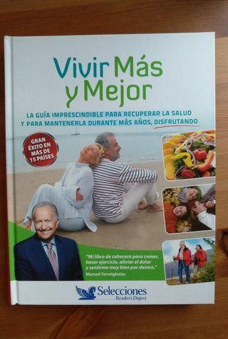 Libro Vivir más y mejor. Nuevo
