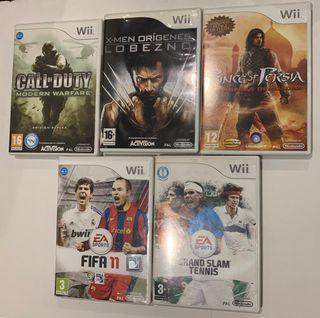 Juegos Wii (ver descripción)