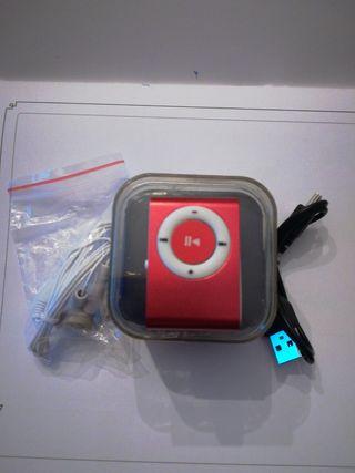 mini MP3 sin estrenar en su caja