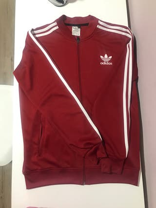 Sudadera chaqueta adidas roja
