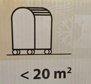 Aire acondicionado portátil Equation