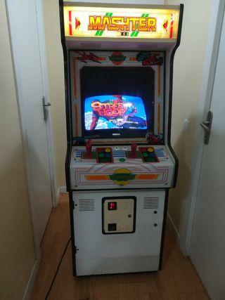 maquina Recreativa Arcade mashter 3 tucan jamma