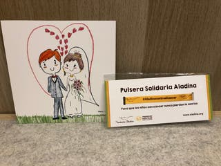 Pulsera solidaria boda