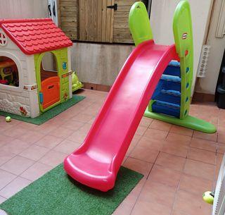 317. Tobogan Infantil Little Tikes plástico 1.4m