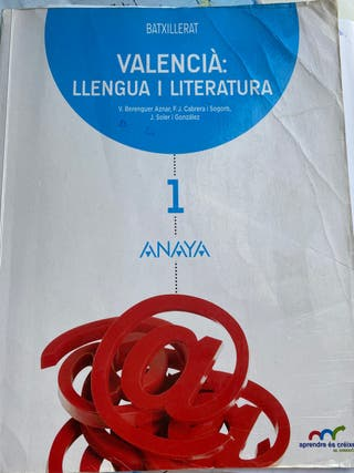 Libros texto 1° bachiller Anaya, Prodidacta