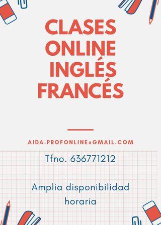 Clases particulares inglés y francés online
