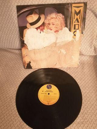 Disco vinilo LP Madonna Dick Tracy I'm brathless