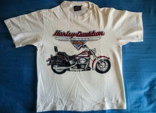 Camiseta Harley Davidson + Cuaderno Ruta 66