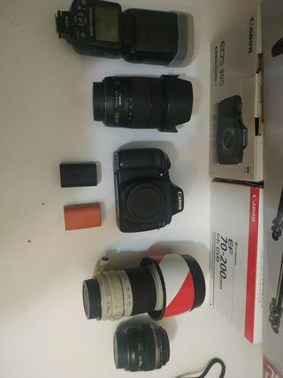 Canon cámara réflex