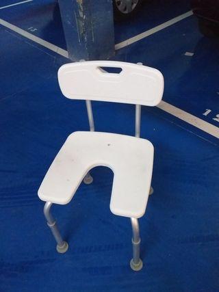 silla para ducha de minusvalidos
