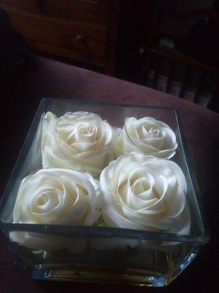 jarrón floral