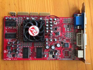 Tarjeta gráfica ATI Radeon 9000 128 mb