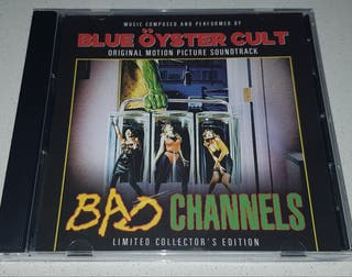 CD BSO BAD CHANNELS de Blue Öyster Cult.