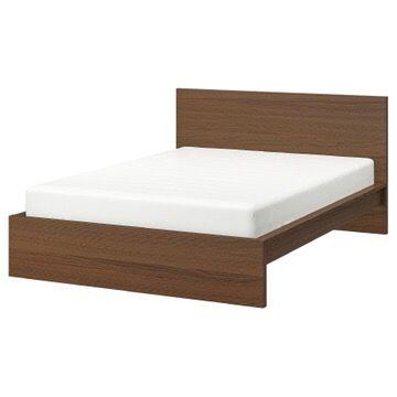 King ikea malm bed