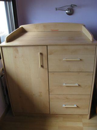 Mueble cambiador de pañales