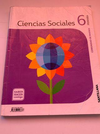 Ciencias Sociales 6 isbn 9788468049687